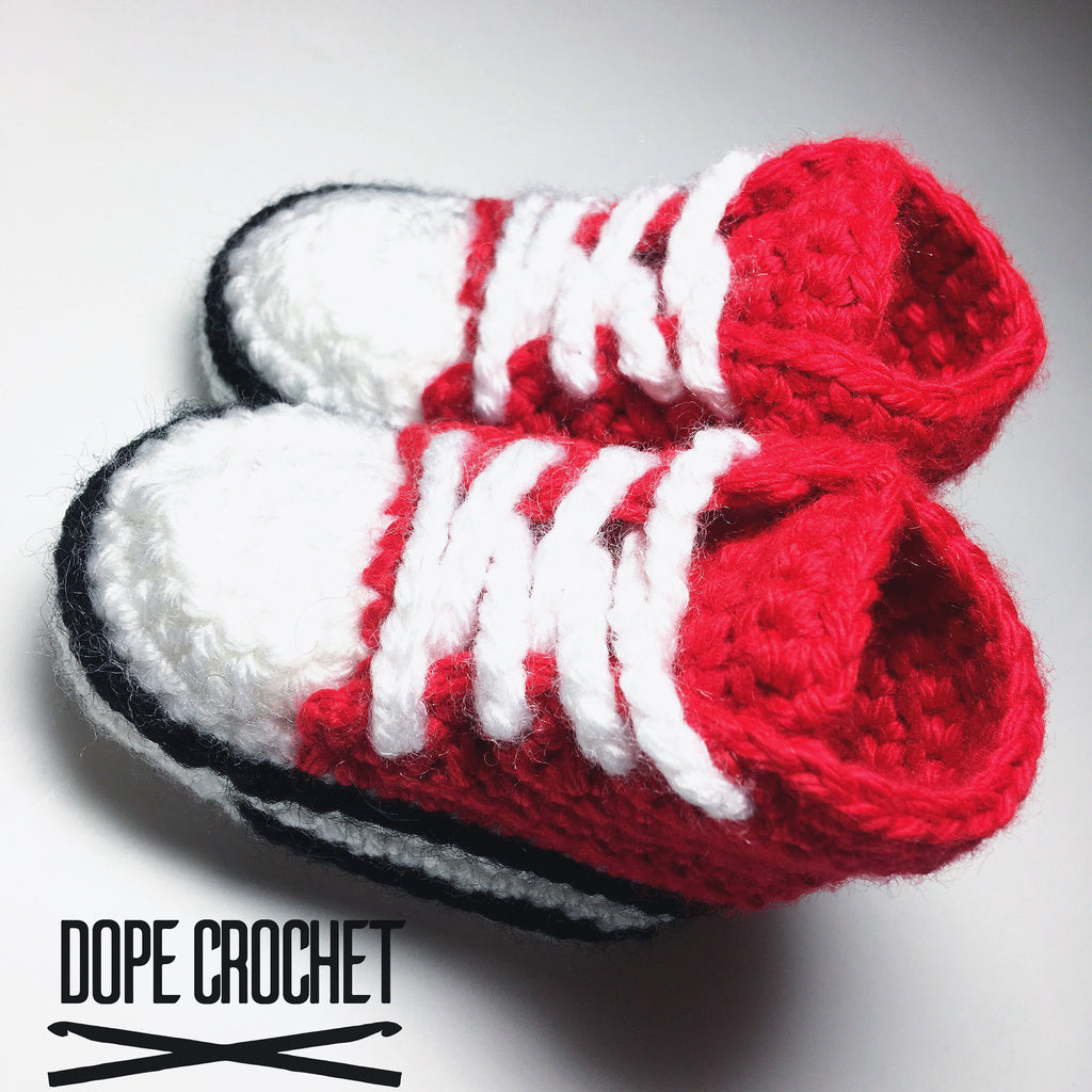 Infant Crochet Sneakers