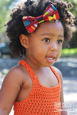 Kids Crochet Tank Top