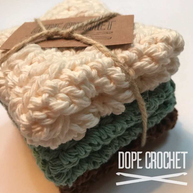 Crochet Washcloth - Single