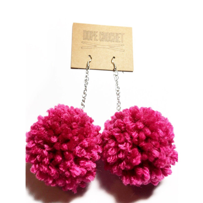 POM POM Earrings - Medium POM POM Earrings