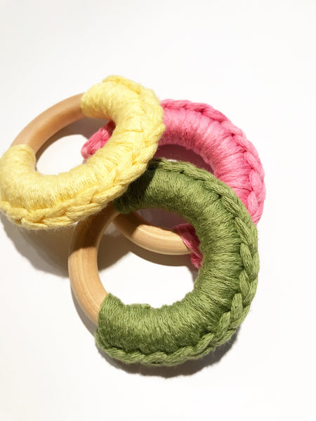 Crochet Teething Ring