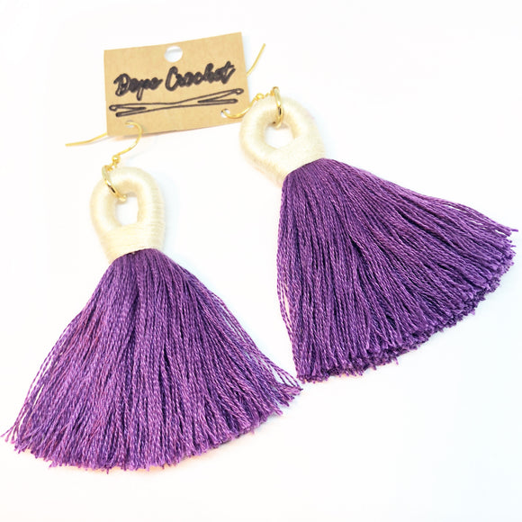 Custom for Nikitra - Tassel Earrings