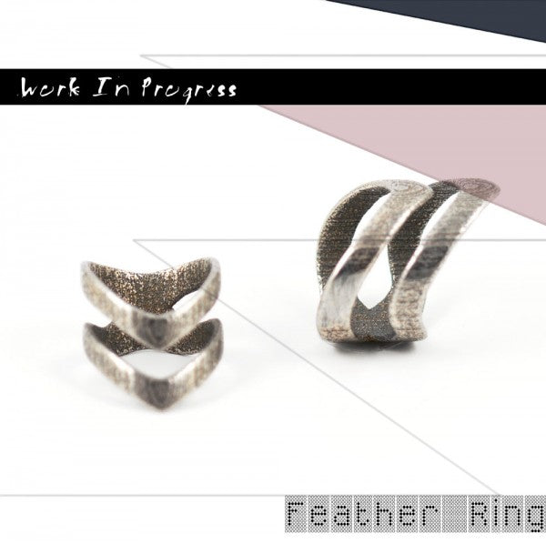 WIP Feather Ring