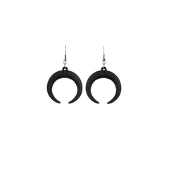 Eclipse Earrings in Black