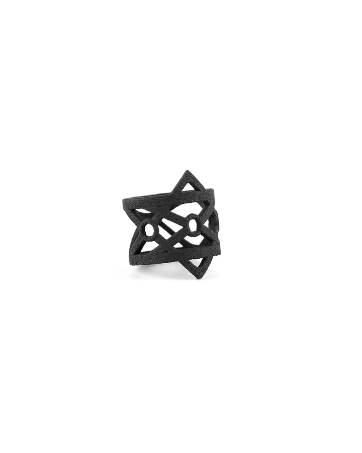 Pain Ring in Black