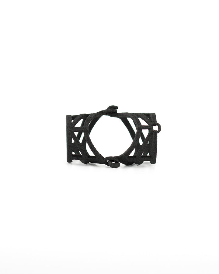 Suffocation Knuckle Ring in Black