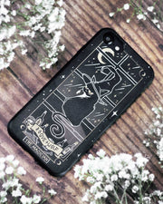 The Magician Tarot Phone Case - Mirror Gold Details