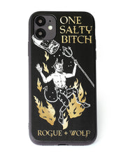 One Salty Witch Phone Case - Mirror Gold Details