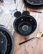 Midnight Porcelain Large Dinner Bowl - UK only