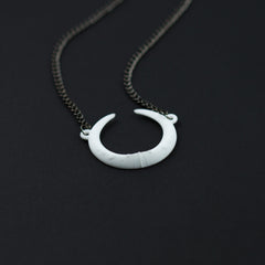 Eclipse Necklace in White