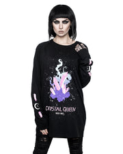 Crystal Queen Long Sleeve Tee