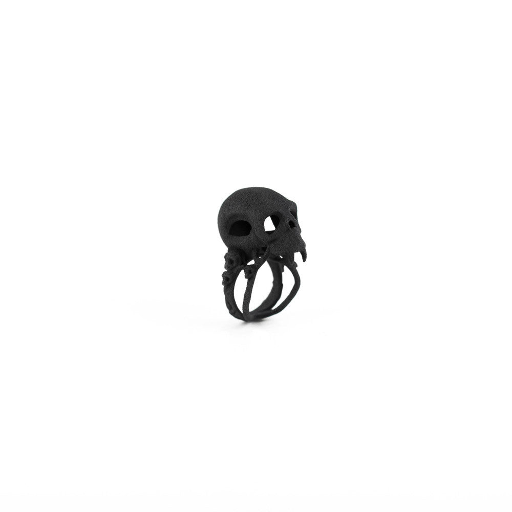 Blood Junkie Ring in Black