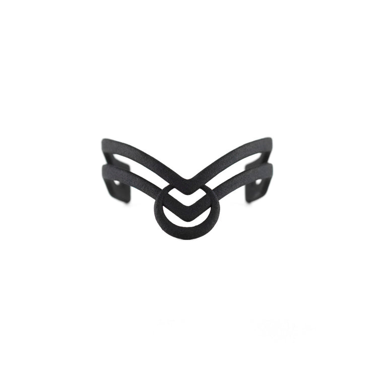 Glyph of Acceptance Cuff in Black