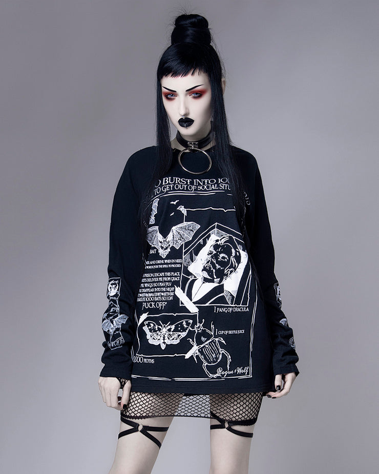 Dramatic Exit Spell - Long Sleeve Tee