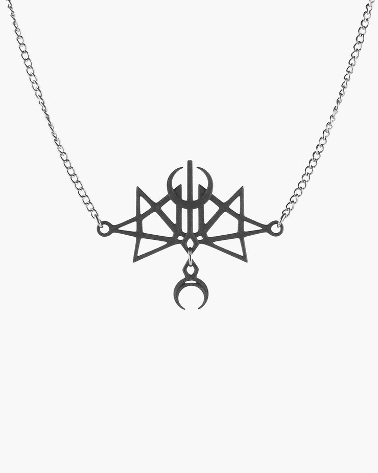 Supernova Necklace in Black
