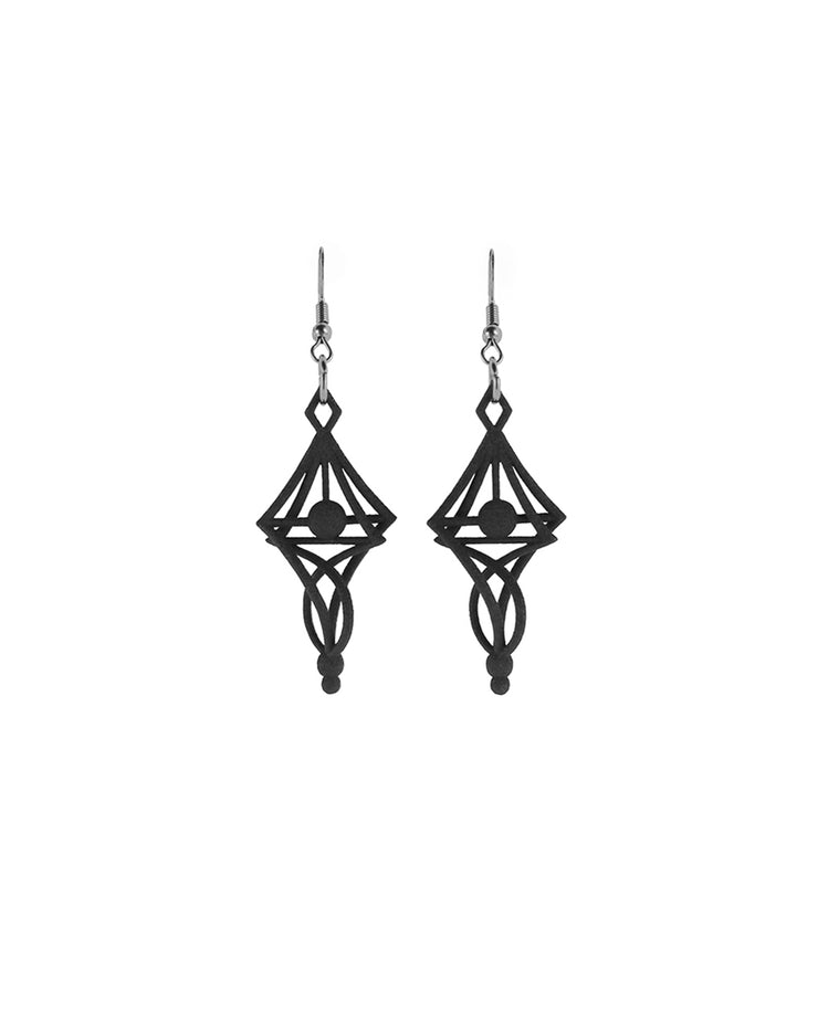 Andromeda Earrings in Black