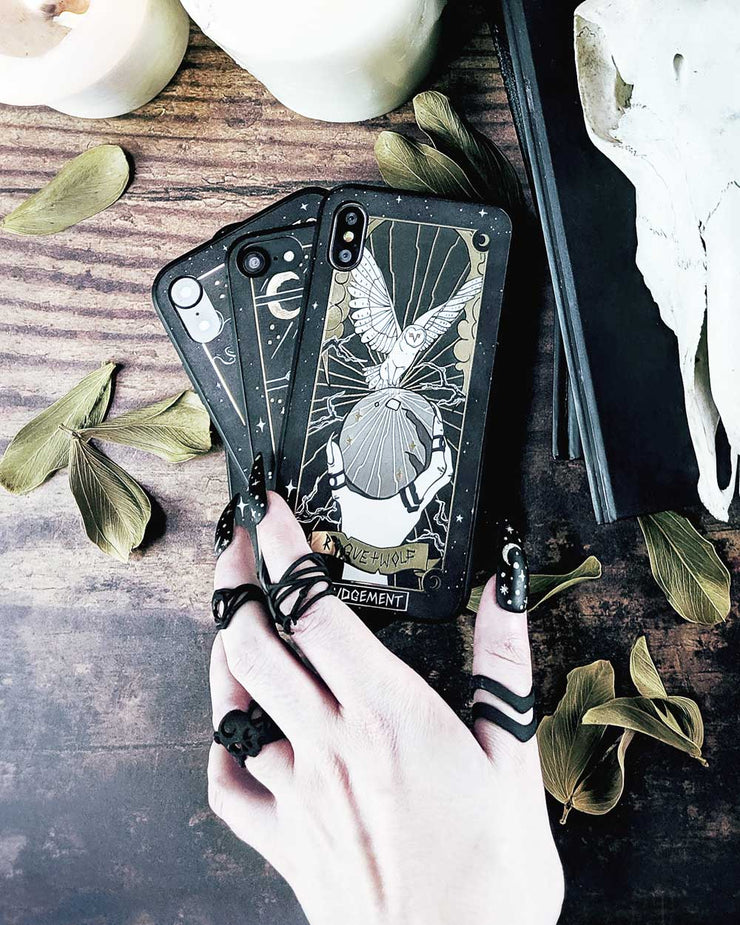 Judgement Tarot Phone Case - Mirror Gold Details