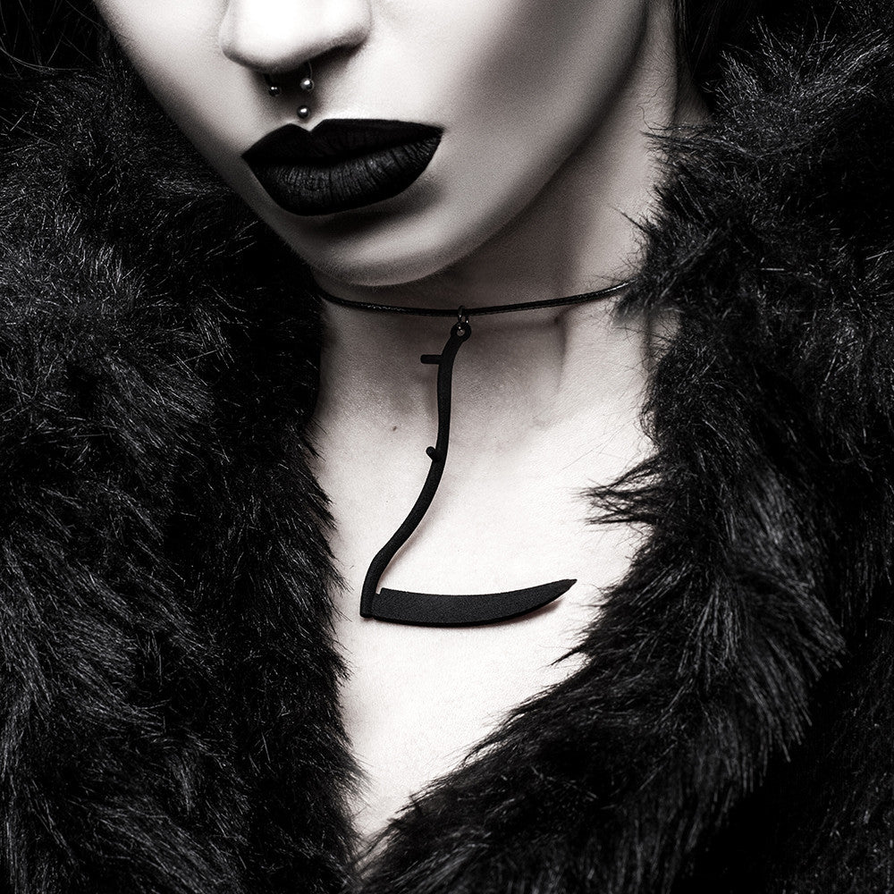 Reaper Choker in Black