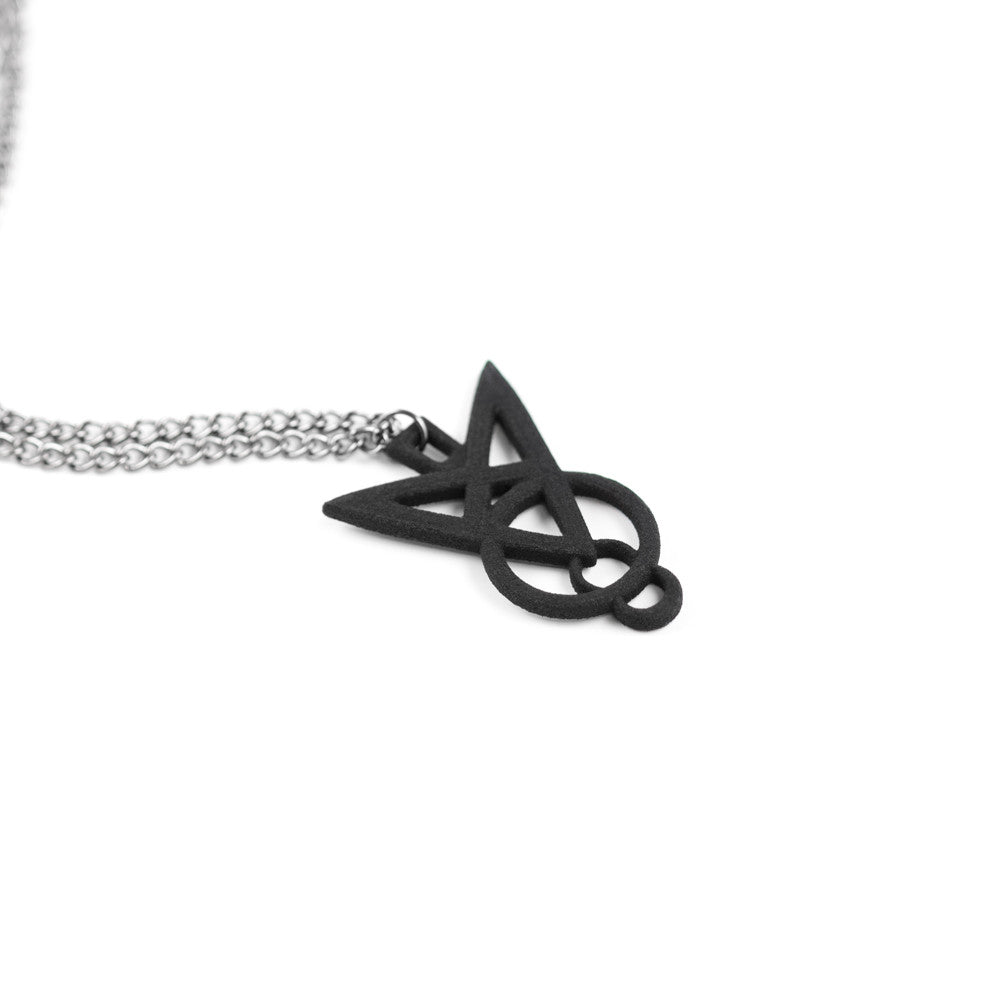Sigil of Dominance Necklace in Black