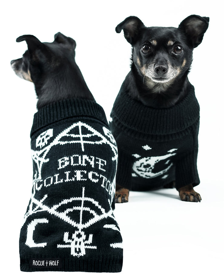 Bone Collector Knitted Pet Sweater - Dog or Cat