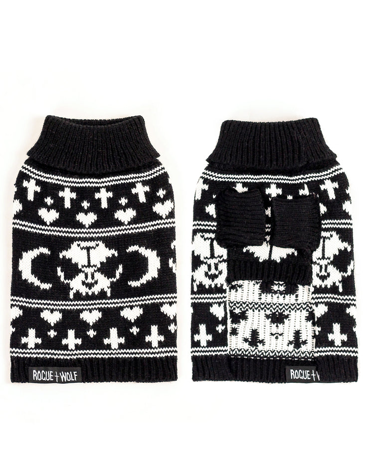 Sworn Enemy Knitted Sweater