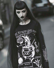 A Spell To Not Give A Sh*t  - Long Sleeve Tee
