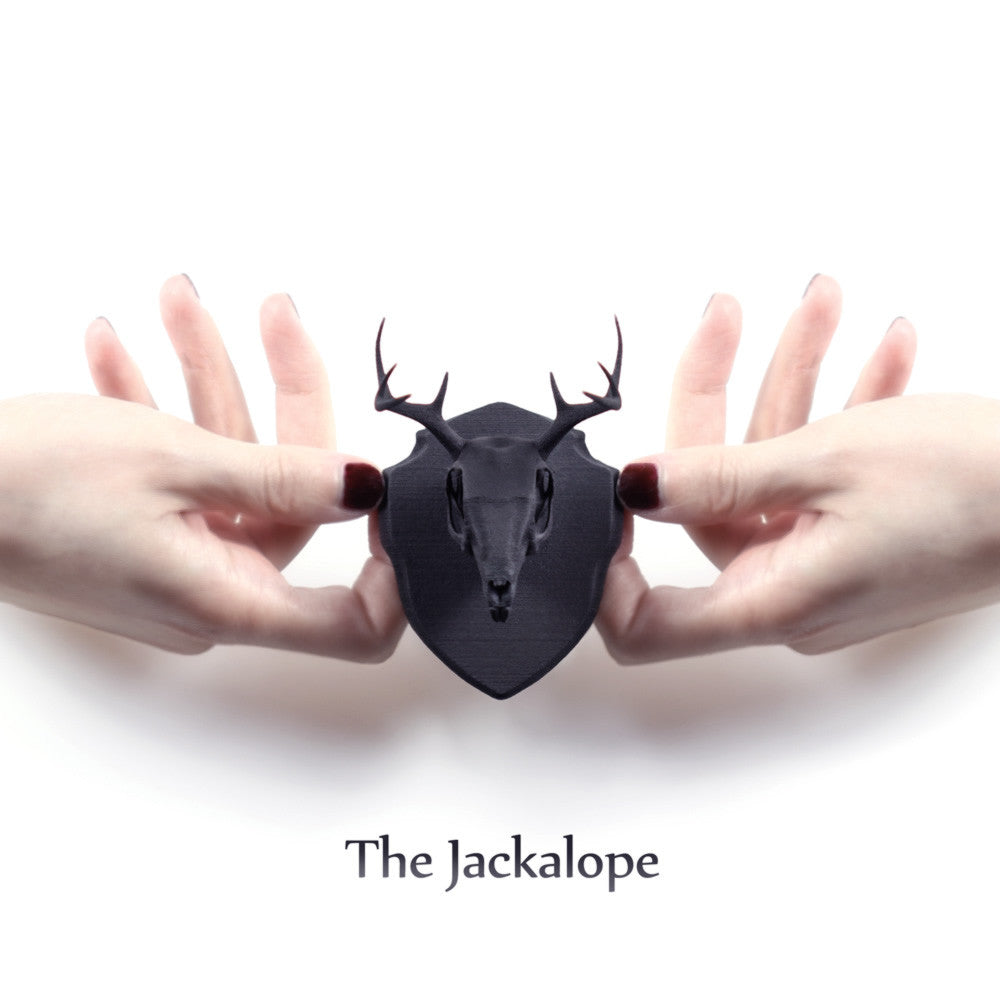 Jackalope Mini Faux Taxidermy