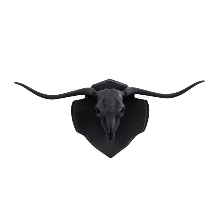 Longhorn Mini Faux Taxidermy