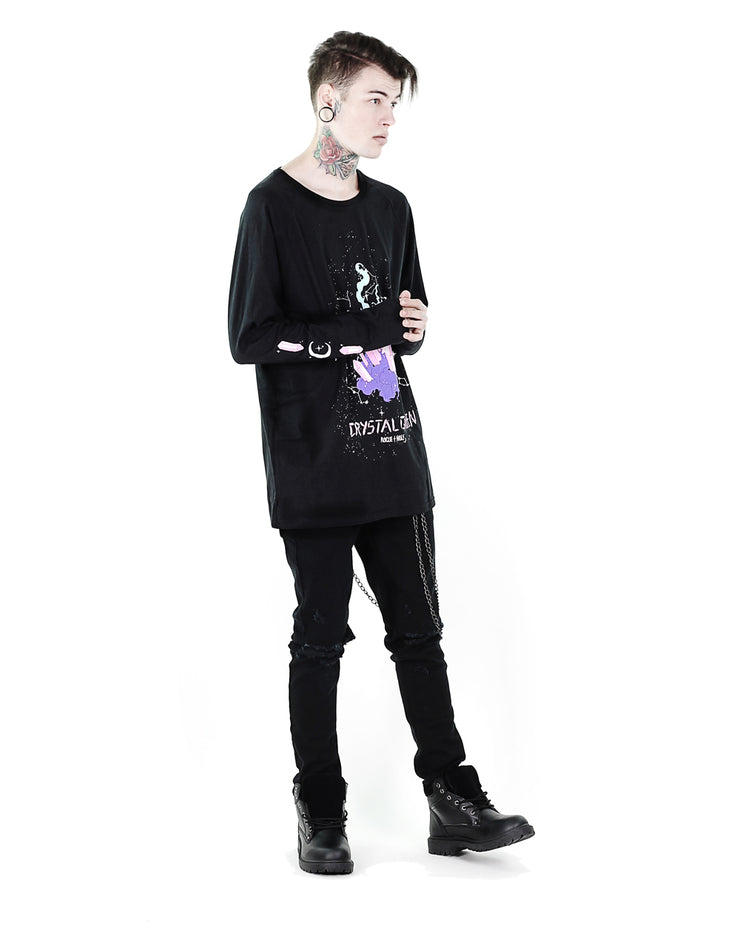 Crystal Queen Long Sleeve Tee - Men