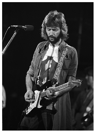 Eric Clapton With Blackie Stratocaster 1975