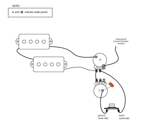 Basic Electric Guitar Wiring Diagrams More, Basic, Free