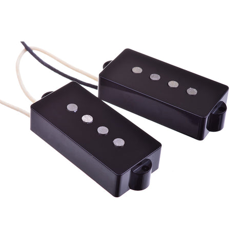 Artec Vintage Style Bass Alnico 5 Electric Guitar Dual Pickup Set