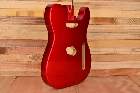 Candy Apple Red Rockaudio Vintage Series Ash Guitar Body