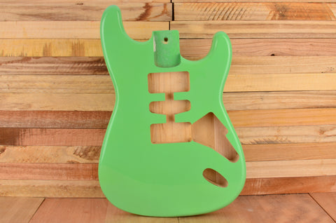 Surf Green Rockaudio Standard Series Ash Hardtail Guitar Body