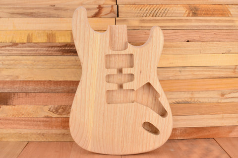 Unfinished Rockaudio Standard Series Ash Hardtail Guitar Body