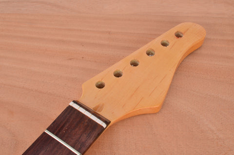 Standard Series Rockaudio Gloss Finished Guitar Neck With Rosewood Fingerboard