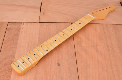 Standard Series Rockaudio Gloss Finished Guitar Neck With Maple Fingerboard