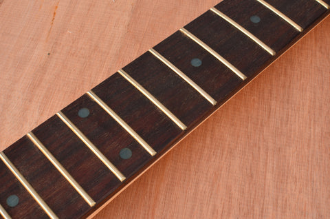 Standard Series Rockaudio Satin Finished Guitar Neck With Rosewood Fingerboard & Abalone Dots