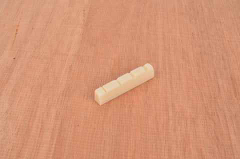 Bone Nut Replacement for 4 String Bass Guitar 42mm x 6mm x 9mm