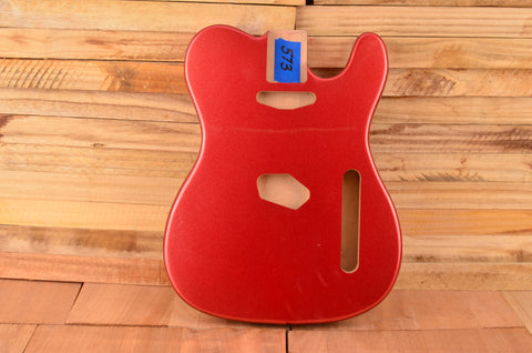 Candy Apple Red Metallic Flake Alder Vintage Series Guitar Body - Clearance