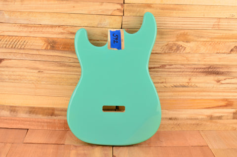 Surf Green Paulownia Left Handed Standard Series Guitar Body - Clearance