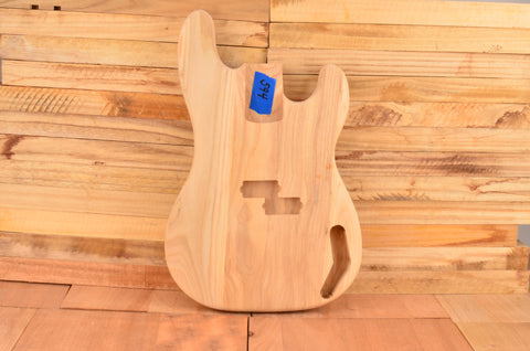 Unfinished Ash Bass Guitar Body - Clearance