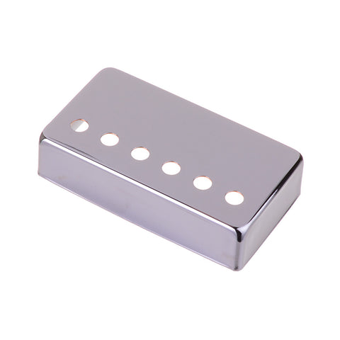 Chrome LP Style Metal Humbucker Guitar Pickup Cover For Neck Position