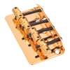Gold Vintage Style Bass Guitar Bridge
