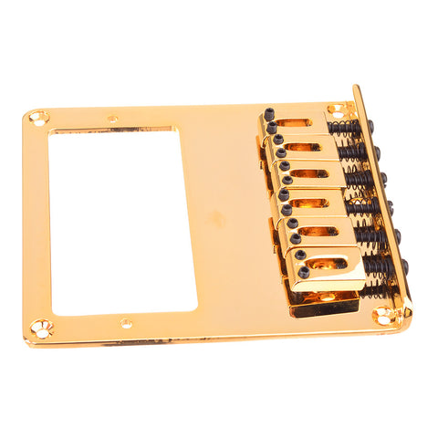 Modern Style Tele Humbucker Guitar Bridge Gold