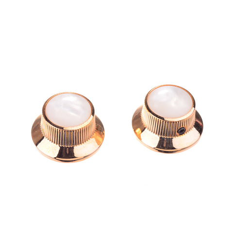 Gold Bell Guitar Knobs with