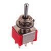Six Pole DPDT Mini Toggle Switch (ON-ON-ON)