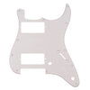 Standard Series Three Ply Guitar Pickguard Aged White Dual Humbucker