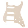 Standard Series Single Ply Guitar Pickguard HSS Cream