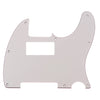 Telecaster Three Ply Aged White Humbucker Routed Guitar Pickguard